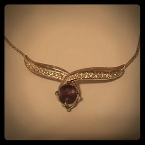 Amethyst Necklace and Bracelet